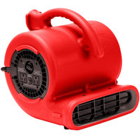 B-Air VP-25 Vent Red 3-Speed Compact Air Mover - 1/4 hp