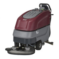 Minuteman E26 E-Series 26 inch Walk Behind Battery Operated Compact Disc Brush Scrubber