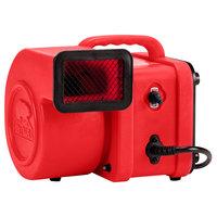 B-Air FX-1 Flex Red Mini Commercial Air Mover - 1/4 hp
