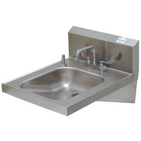 Advance Tabco 7-PS-25 Hand Sink with Faucet - 20 inch x 24 inch