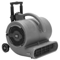 B-Air VP-50H Vent Grey 2-Speed Air Mover with Handle and Wheels - 1/2 hp