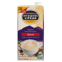 Oregon Chai 32 oz. Organic Spiced Chai Tea Latte 1:1 Concentrate