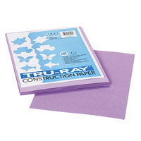 Pacon 103018 Tru-Ray 9 inch x 12 inch Lilac 50-Sheet Pack of 76# Construction Paper