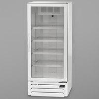 Beverage-Air MMR12HC-1-W MarketMax 24 inch White Refrigerated Glass Door Merchandiser with LED Lighting
