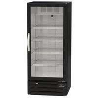 Beverage-Air MMR12HC-1-B MarketMax 24 inch Black Refrigerated Glass Door Merchandiser with LED Lighting