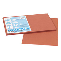 Pacon 103057 Tru-Ray 12 inch x 18 inch Warm Brown 50-Sheet Pack of 76# Construction Paper