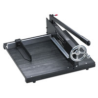 Premier 7000E Commercial Stack 16 inch x 20 inch 350 Sheet Paper Cutter with Wood Base