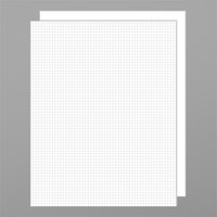 Royal Brites 26976 11 inch x 14 inch White Foam Board with Gridlines - 2/Pack