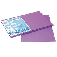 Pacon 103041 Tru-Ray 12 inch x 18 inch Violet 50-Sheet Pack of 76# Construction Paper