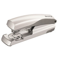 Leitz 55657004 NeXXt Series 40 Sheet White / Silver Full Strip Metal Stapler