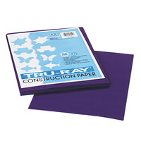 Pacon 103019 Tru-Ray 9 inch x 12 inch Purple 50-Sheet Pack of 76# Construction Paper