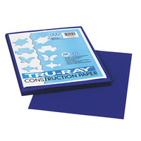 Pacon 103017 Tru-Ray 9 inch x 12 inch Royal Blue 50-Sheet Pack of 76# Construction Paper