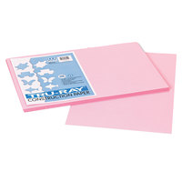 Pacon 103044 Tru-Ray 12 inch x 18 inch Pink 50-Sheet Pack of 76# Construction Paper