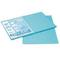 Pacon 103039 Tru-Ray 12 inch x 18 inch Turquoise 50-Sheet Pack of 76# Construction Paper