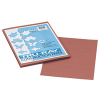 Pacon 103025 Tru-Ray 9 inch x 12 inch Warm Brown 50-Sheet Pack of 76# Construction Paper