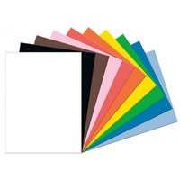 Pacon 103095 Tru-Ray 18 inch x 24 inch Assorted Colors 50-Sheet Pack of 76# Construction Paper