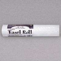 Pacon 4775 18 inch x 75' White 35# Easel Paper Roll