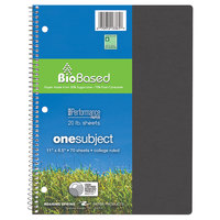 Roaring Spring 13361 Earthtones Biobase 11 inch x 8 1/2 inch 1 Subject Wirebound Notebook with Assorted Covers