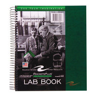 Roaring Spring 77646 11 inch x 9 inch Wire bound Quadrille Ruled Lab Research Notebook with Assorted Covers