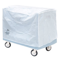 Metro SSDV16 Heavy-Duty 6-Mil Single Side-Load Dish and Tray Cart Vinyl Cover