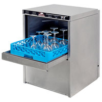 CMA Dishmachines 181-VL High Temperature Energy Recovery Undercounter Glass Washer - 208-230V, Single Phase