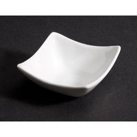CAC SHA-Q4 Sushia 1.5 oz. China Square Dish 48/Case