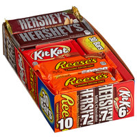 HERSHEY'S Chocolate Full Size Candy Bar Variety Pack - 30 Count
