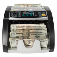Royal Sovereign RBC660 Black / Silver 1000 Bills / Min Currency Counter - 120V