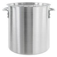 Choice 40 Qt. Standard Weight Aluminum Stock Pot with Cover
