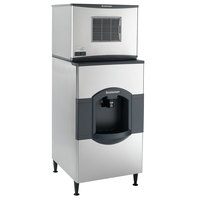 Scotsman C0330MA-1 Prodigy Series 30 inch Air Cooled Medium Cube Ice Machine and Dispenser - 400 lb.