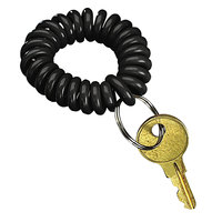 SecurIT 04995 Black Wearable Flexible Wrist Key Coil