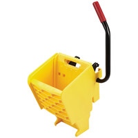 Rubbermaid 2064915 WaveBrake® Yellow Side Press Mop Wringer