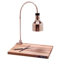 Cres Cor IFW-61-GL-10PB Portable Carving Station with Maple Wood Cutting Board
