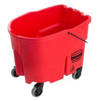 Rubbermaid 2064910 WaveBrake® 35 Qt. Red Mop Bucket
