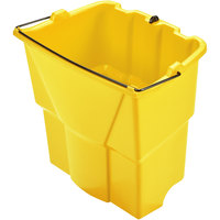 Rubbermaid 2064908 WaveBrake® 18 Qt. Yellow Dirty Water Bucket