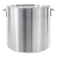 Choice 80 Qt. Standard Weight Aluminum Stock Pot with Cover