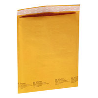 Jiffylite 55536 16 inch x 10 1/2 inch Self Seal #5 Kraft Mailer - 80/Case