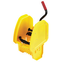 Rubbermaid 2064959 WaveBrake® Yellow Down Press Mop Wringer