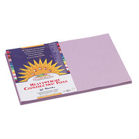 Pacon 7107 12 inch x 18 inch Lilac Smooth Finish 58# Construction Paper - 50/Pack