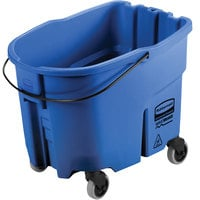 Rubbermaid 2064904 WaveBrake® 35 Qt. Blue Mop Bucket