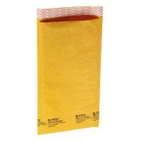 Jiffylite 55304 8 inch x 4 inch Self Seal #000 Kraft Mailer - 250/Case