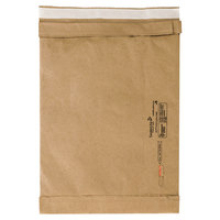 Jiffy 65179 16 inch x 10 1/2 inch Padded Peel & Seal #5 Natural Kraft Mailer - 25/Case