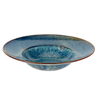 Bon Chef 2100040P Tavola Marea 12 oz. Porcelain Pasta / Soup Wide Rimmed Bowl - 12/Pack
