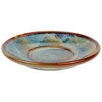 Bon Chef 2100052P Tavola Marea 6 inch Porcelain Tea Saucer - 24/Case