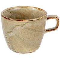 Bon Chef 2300053P Tavola Harbour 6 oz. Porcelain Tea Cup - 12/Case