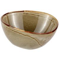 Bon Chef 2300007P Tavola Harbour 8 oz. Porcelain Salad / Soup Bowl   - 12/Case