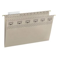 Smead 64093 Legal Size Steel Gray TUFF 1/3 Cut Tab Hanging File Folder - 18/Box