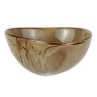 Bon Chef 23000010P Tavola Harbour 50 oz. Porcelain Salad / Soup Bowl - 12/Case