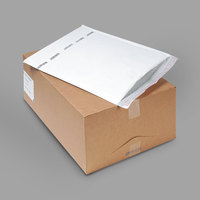 Jiffy 37715 20 inch x 14 1/4 inch TuffGard #7 Self Seal Cushioned White Mailer - 25/Case