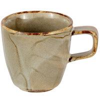 Bon Chef 2300051P Tavola Harbour 3 oz. Porcelain Espresso Cup - 12/Case